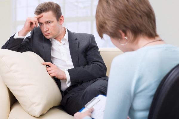 На приеме у психотерапевта